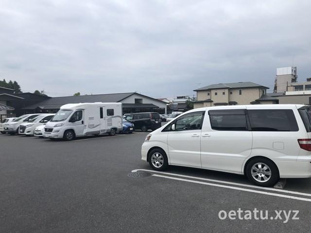 道の駅日光駐車場1