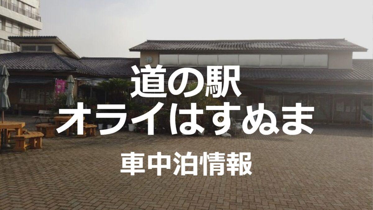九十九里浜行くなら道の駅オライはすぬまで車中泊がオススメ!