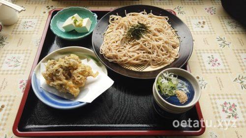 道の駅龍勢会館レストラン蕎麦