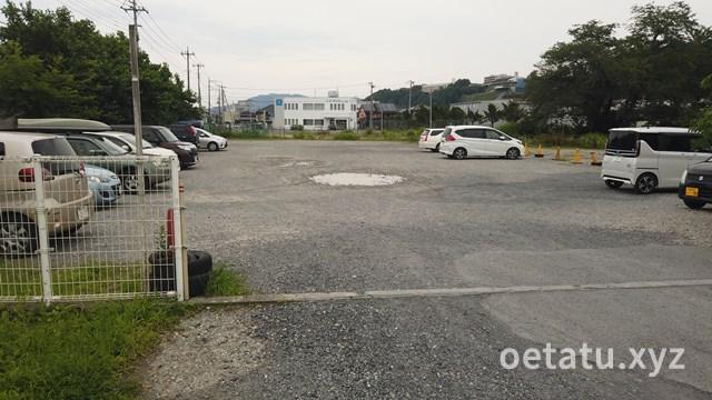 道の駅ちちぶ駐車場