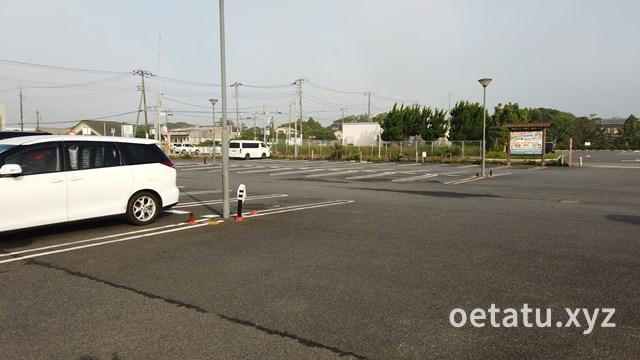 道の駅オライはすぬま駐車場