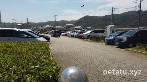 道の駅 ちくら・潮風王国駐車場