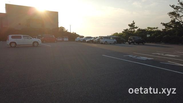 道の駅きょなん駐車場
