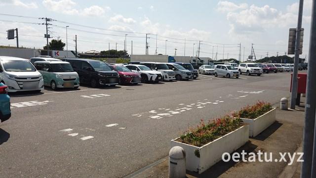 道の駅ごか駐車場