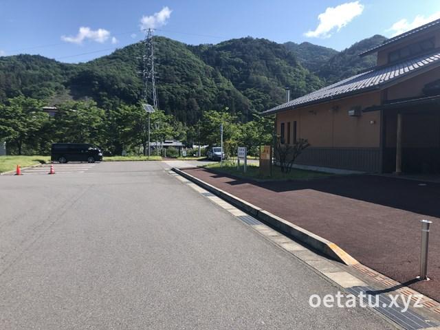 道の駅あがつま峡駐車場2