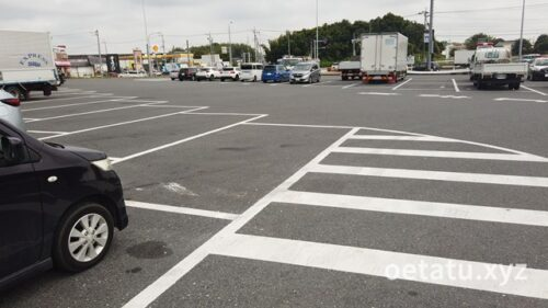 道の駅みかも駐車場1